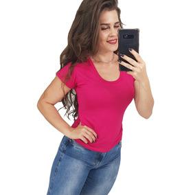 Kit 25 Blusa Camisas Feminina Moda Evangelica Basica Atacado
