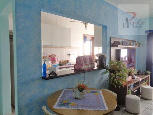 Apartamento Com 1 Dormitório, Elevador, Excelente Localização, À Venda, 42 M² - Aviação - Praia Grande/sp - Ap2345