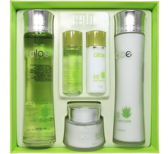 Pure Aloe Skin Set (kit De Aloe) - kg a $39800