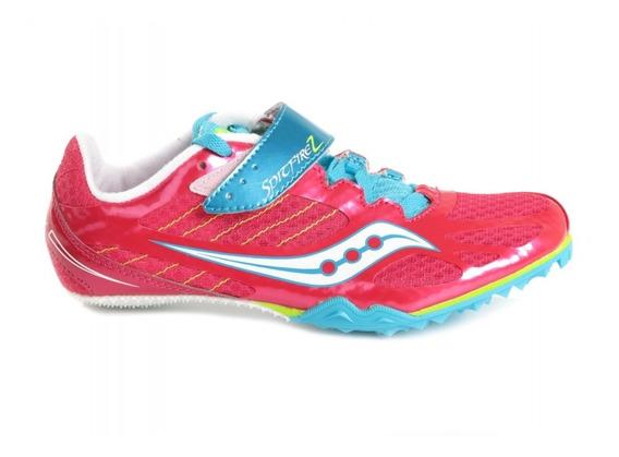 Zapatillas De Atletismo Clavos Saucony Spitfire 2 Velocidad