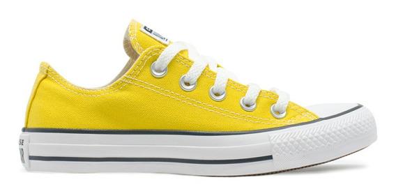 Tênis Converse All Star Seasonal Ox Amarelo Vivo Original