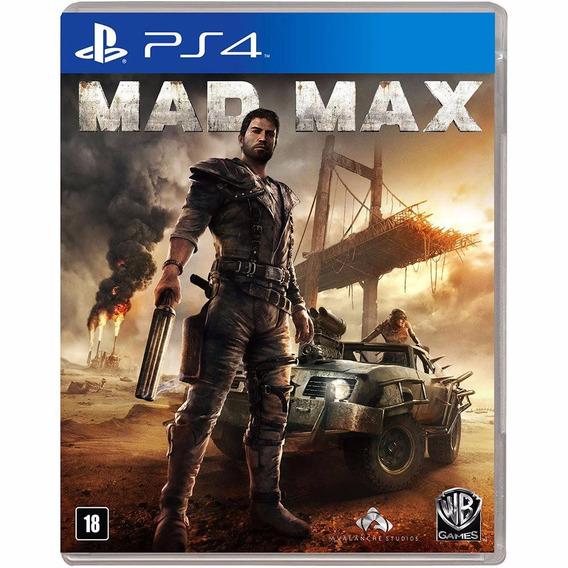 Mad Max (mídia Física Legendado Em Pt-br) - Ps4