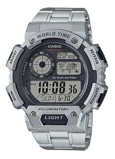 Reloj Hombre Casio Ae-1400whd-1av Digital / Lhua Store