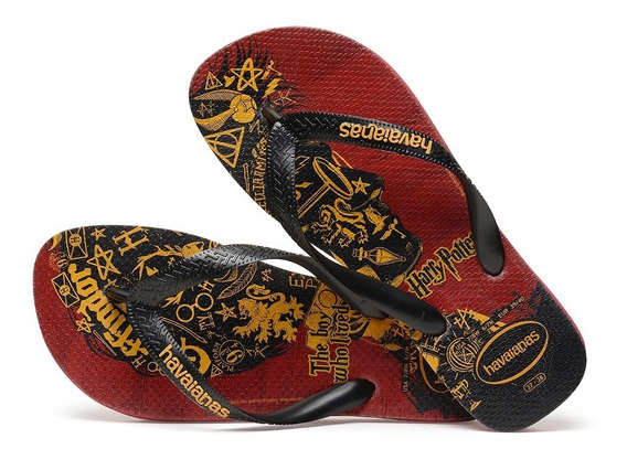 Sandálias Havaianas - Chinelo Masculino Harry Potter