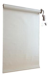 Persiana Enrollable Blanca .65 X 2,27 L Black Out Y Envio