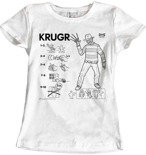Imagen 1 de 2 de Freddy Kruger Playera  Ikea Rott Wear