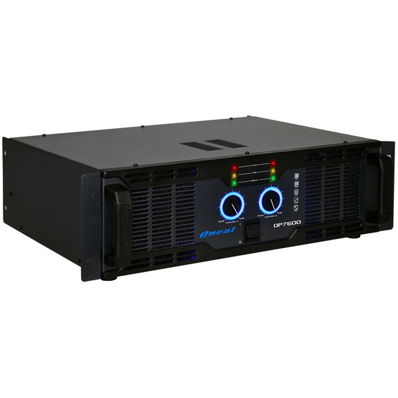 Amplificador 2 Ch 1300w Rms ( Total ) Op 7600 - Oneal