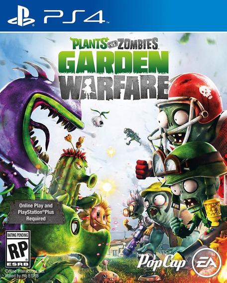 Plants Vs Zombies Garden Warfare - Ps4 - Mídia Física