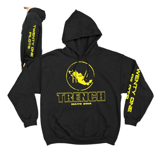 Sudadera Twenty One Pilots Trench Bandito Tour Mexico 2019