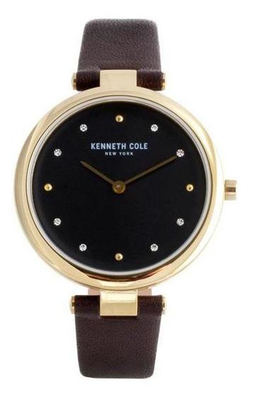 Reloj Kenneth Cole New York Kc50513003 Dorado Pm-7227663