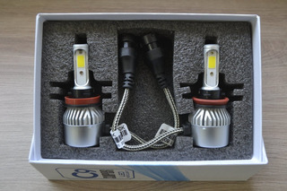 Kit De Foco Led H11 6000k 6000lm