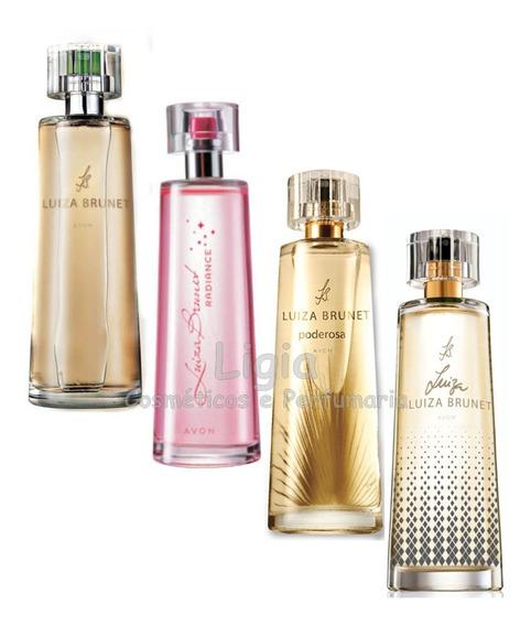 Kit 4 Perfumes Luiza Brunet Avon