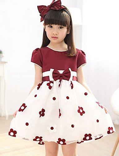 Vestidos De Niñas Con Estampado