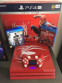 Ps4 Pro Spider Man 1tb + 2 Jogos