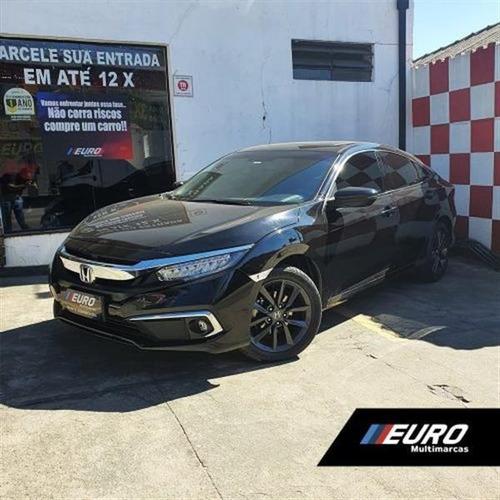 Imagem 1 de 11 de Honda Civic 1.5 16v Turbo Gasolina Touring 4p Cvt 2019/2020