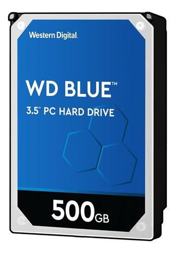 Disco rígido interno Western Digital  WD5000AZLX 500GB azul