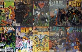 Lote De Cómics X 30 (batman, X-men, Superman, Jla, Spawn...)