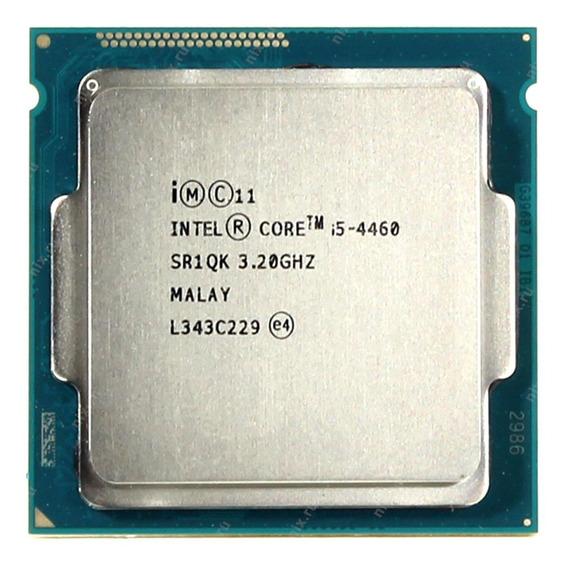 Processador Intel Core i5-4460 BX80646I54460 de 4 núcleos e 3.4GHz de frequência com gráfica integrada
