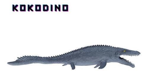 Mosasaurus Jurassic World Juguete Goma Dinosaurio Acuatico