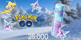 Stardust Pokemon Go 25.000 - Poeira Estelar