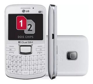 Celular LG C199 Branco Semi-novo