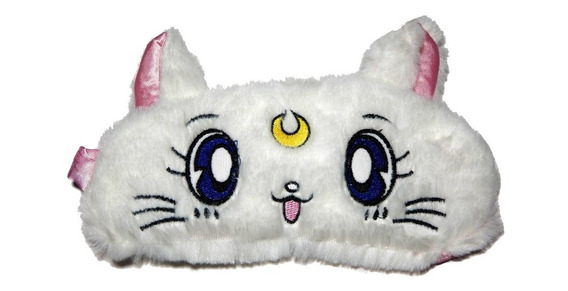 Antifaz Dormir Sailor Moon Cat