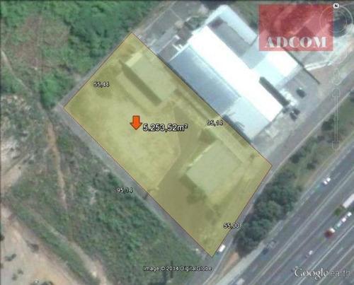 Imagem 1 de 1 de Área Industrial Para Venda E Locação, Jardim Das Colinas, São José Dos Campos. - Ar0006