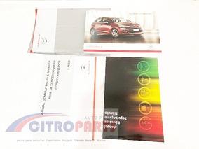 Kit Manual Proprietário Citroen C3 (2013 A 2016). Em Branco