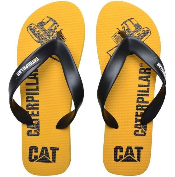 Chinelo De Dedo Cat 100% Off Vai Perde