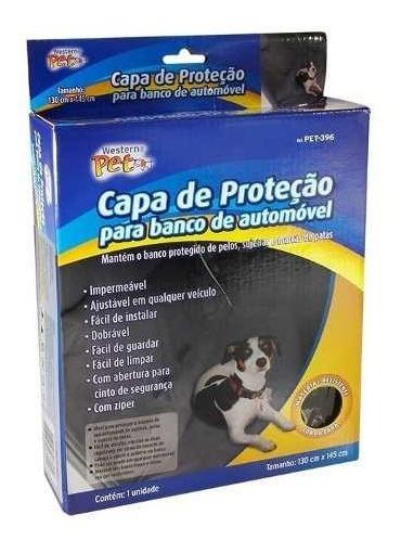 Viagem Capa Protetora Cachorro Branco Carro Impermeável Pet