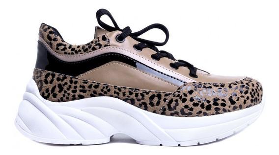 Tênis Feminino Chunky Sneaker Casual Esportivo Várias Cores