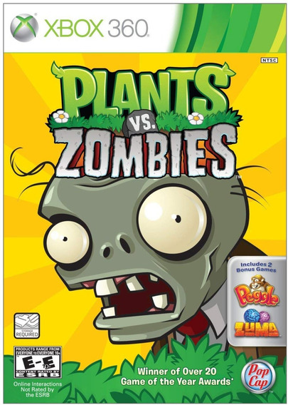 Plants Vs. Zombies- Original Para Xbox 360 Novo