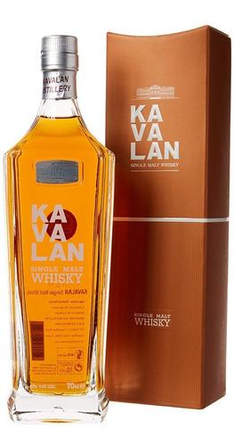 Imagen 1 de 8 de Whisky Kavalan Single Malt 700ml Origen Taiwan
