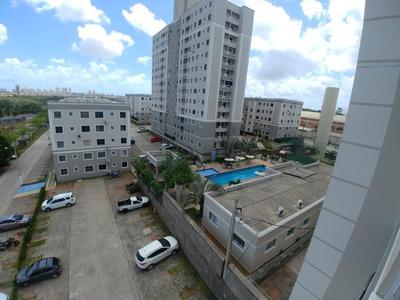 Apartamento Em Emaús, Parnamirim/rn De 46m² 2 Quartos À Venda Por R$ 177.000,00 - Ap210451