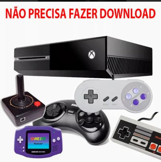 Emulador Para Xbox One 16001 Jogos Nintendo, Mega Drive, Nes