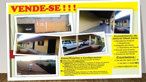 Vende-se Casa Quitada Em Canaã Dos Carajás-pa