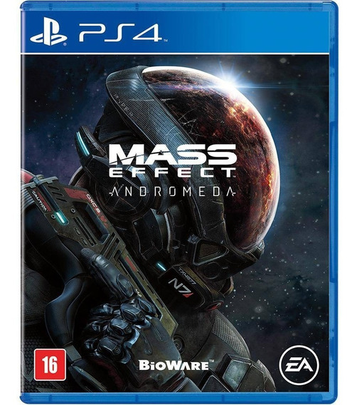 Jogo Mass Effect Andromeda - Ps4 Midia Fisica