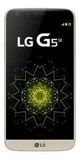 Celular Lg G5 Se Dourado Bom - Trocafone