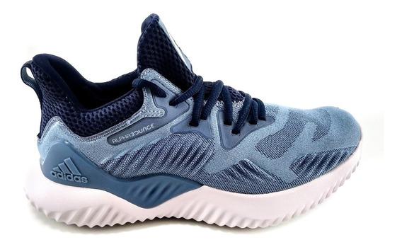Tênis adidas Alphabounce Beyond Feminino Azul/marinho/branco