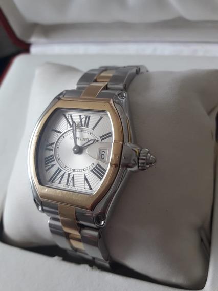 Relogio Cartier Roadster Aço E Ouro18k