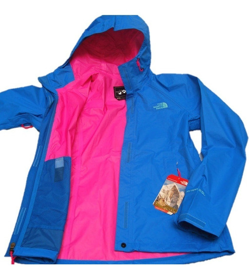 Campera Mujer The North Face W Venture Jacket Clrlkblu/glop