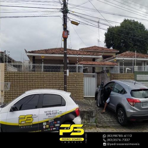 Casa Com 4 Dormitórios À Venda, 120 M² Por R$ 370.000 - Cristo Redentor - João Pessoa/pb - Ca0650