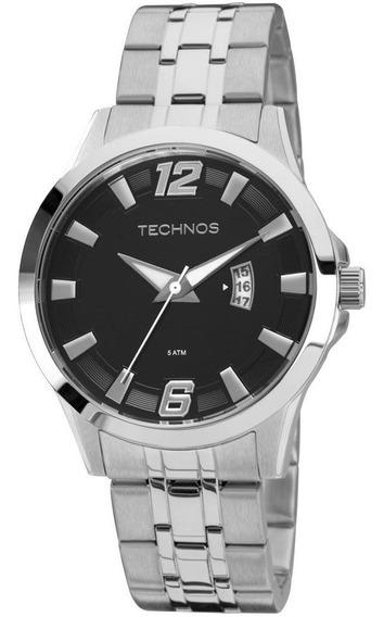 Relógio Technos Analógico Masculino Racer 2115kpv/1p Prata