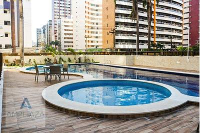 Apartamento Com 3 Dormitórios Para Alugar, 110 M² Por R$ 3./mês - Meireles - Fortaleza/ce - Ap0666