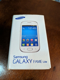 Samsung Galaxy Fame Lite Preto Usado Frete Grátis
