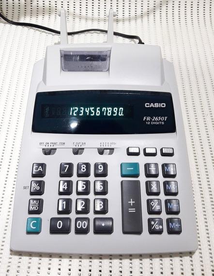 Calculadora Casio Fr-2650t Visor Sem Bobina.