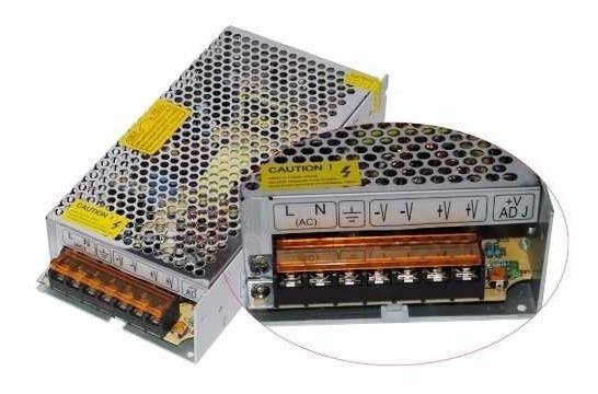 Fonte Transformador Conversor 110/220v P/ 12v 10a120w Bivolt