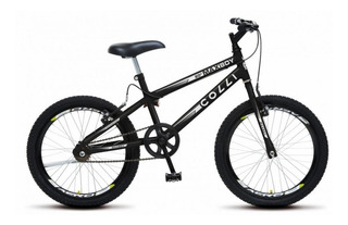 Bicicleta Aro 20 Max Boy Colli - Preto