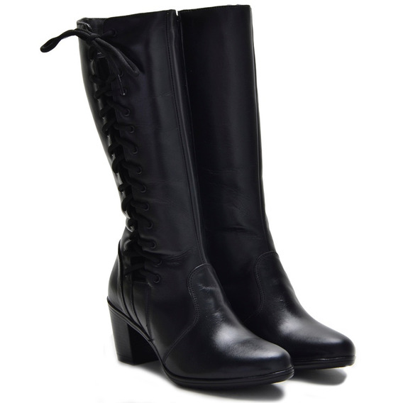 Bota Feminina Atron Shoes 9207 Preta