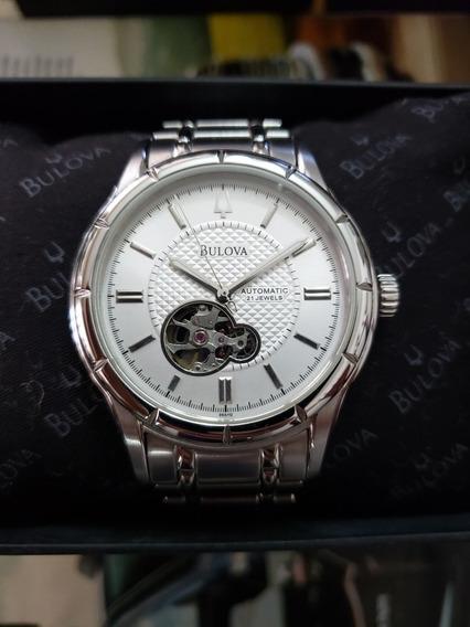 Relógio Bulova Automático/usado 2 Confira De 1,5k Por 1,2k